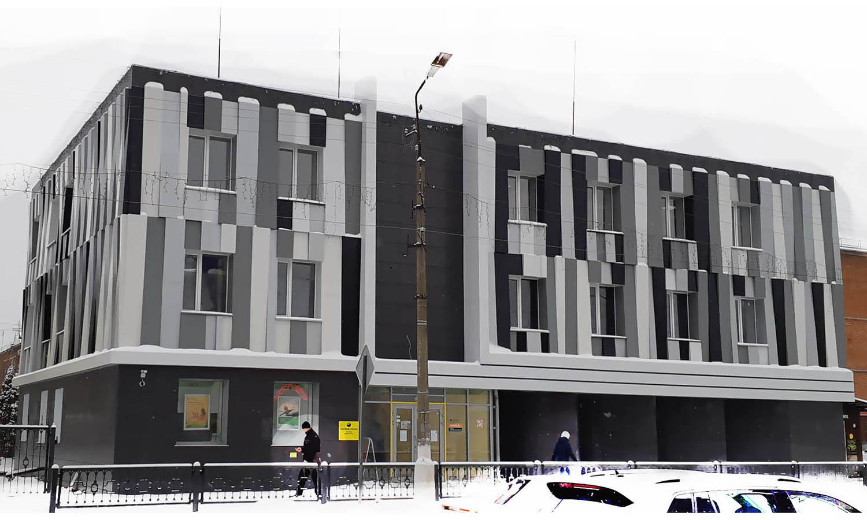 Фасад Шебекино